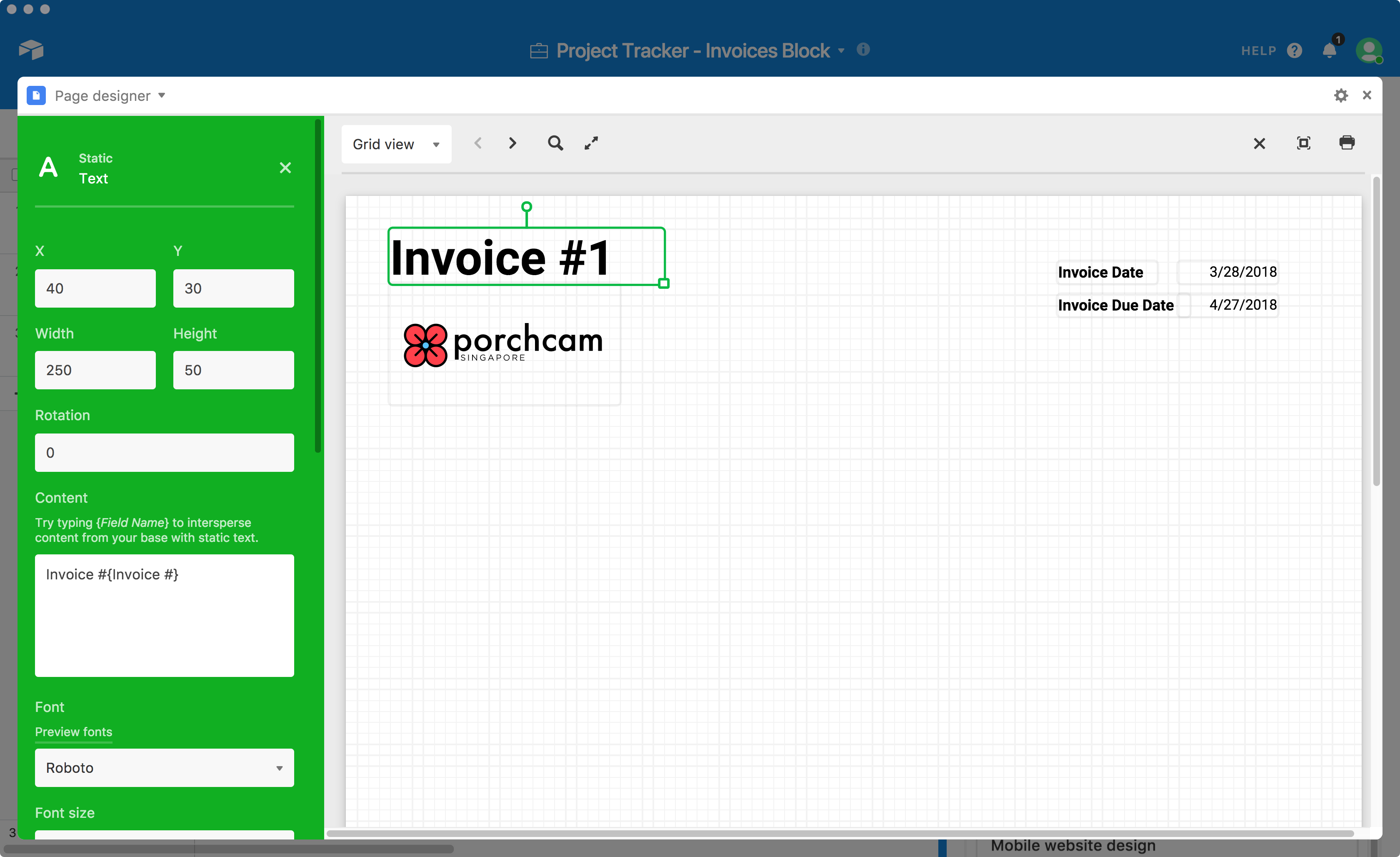 Supercharge Your Client Management With Automatic Invoice Creation - Invoice header template
