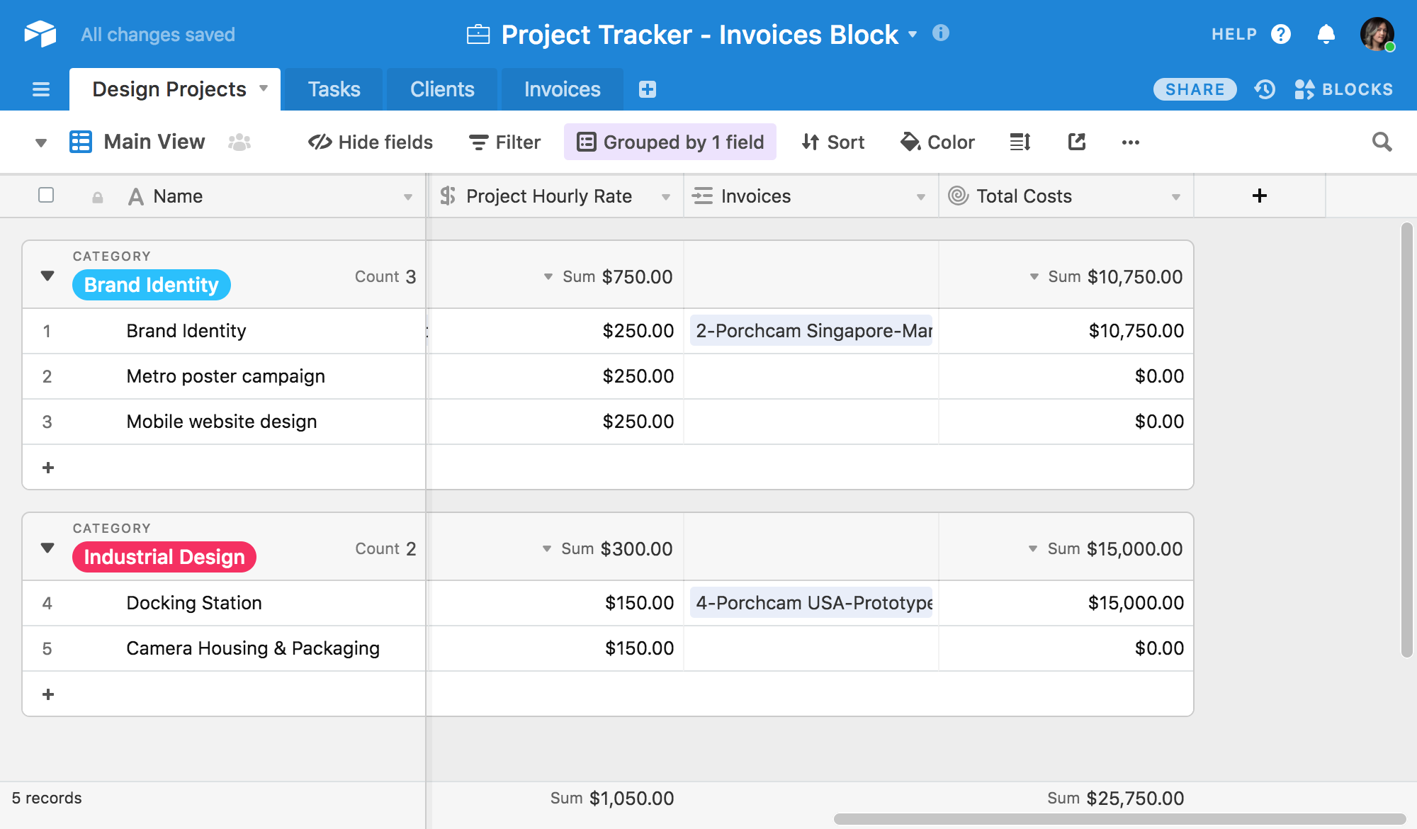 supercharge your client management with automatic invoice creation
