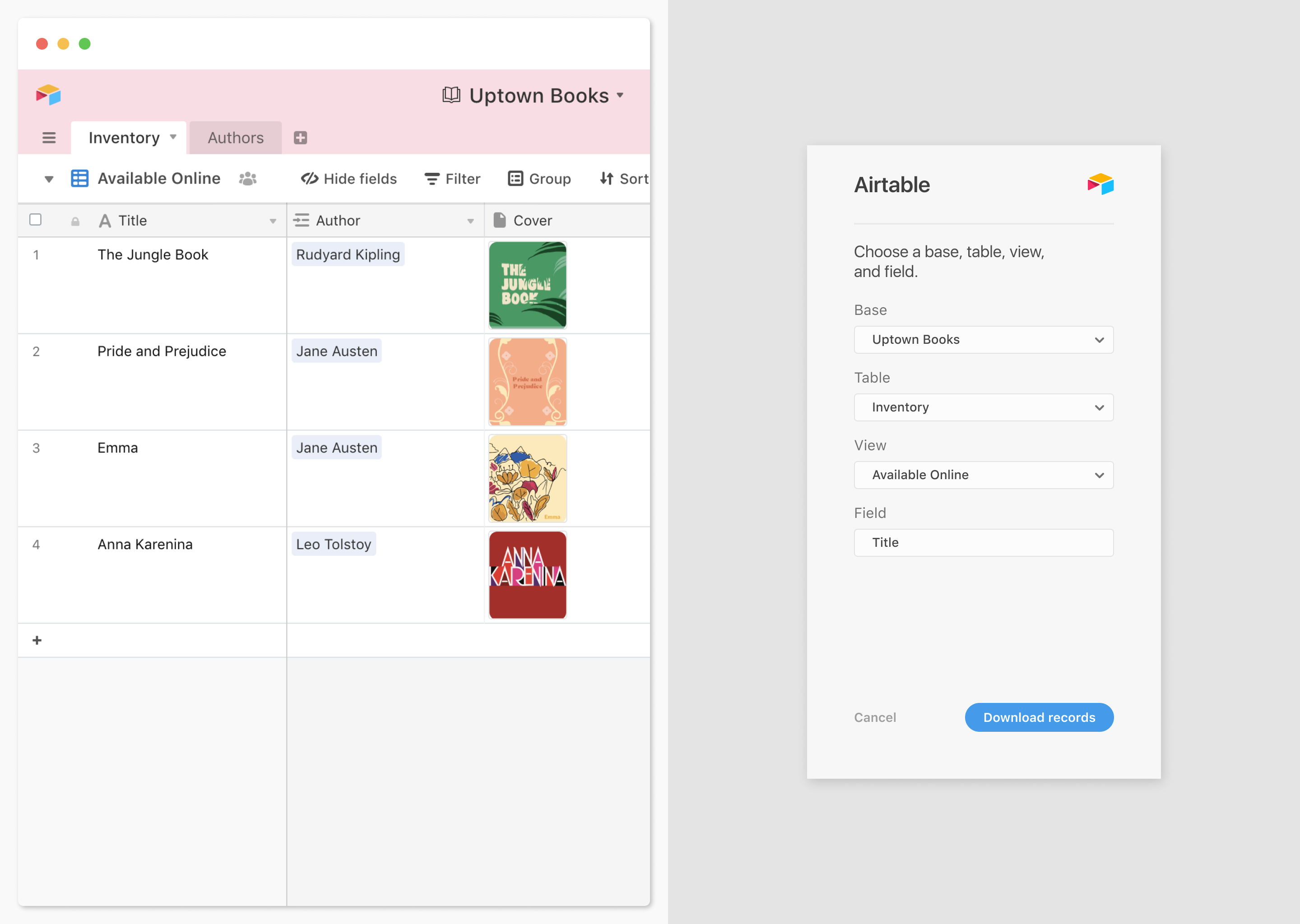 Design in context: Airtable for Adobe XD is now available!